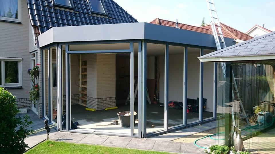 Uitbouw verbouwing aannemer bouwbedrijf timmerbedrijf Oldenzaal